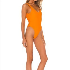 Lovewave One-piece Ribbed Swimsuit High Leg